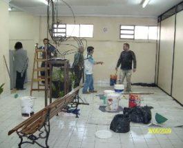 Refacción y pintura del Anexo – Una Jornada comunitaria con un objetivo en común